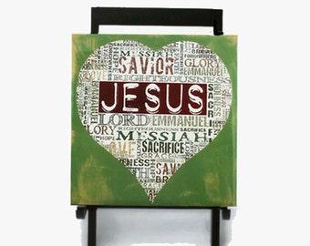 Jesus Wall Plaque