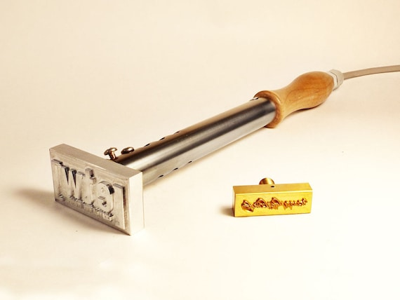 Electric Branding Iron ~ Electric logo branding iron made in the usa