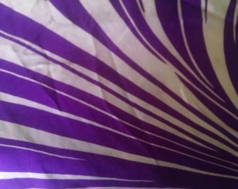 Vintage Purple Onion  Silk Scarf  ECS