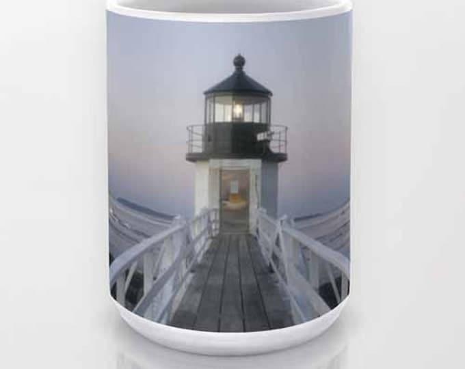 Marshall Point Lighthouse coffee mug, Tea Mug, Photo Mug, Unique Mug, Maine Mug, Lighthouse