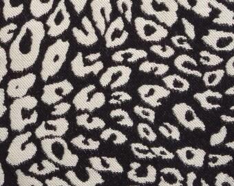 Black White Animal Upholstery Fabric Exotic Animal Throw Pillows Black White Home Decor