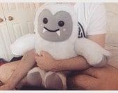 Handmade Giant Eddie/Edwina the Yeti Cushion Plush