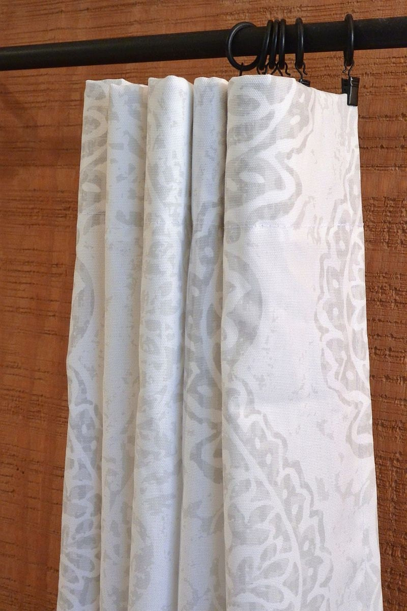 Curtains Window Treatments Nursery Baby Room By Canvascarnival