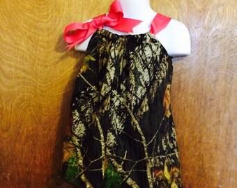 Camo pillow dress