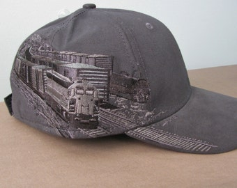 "Embroidered ""Train"" Hat"