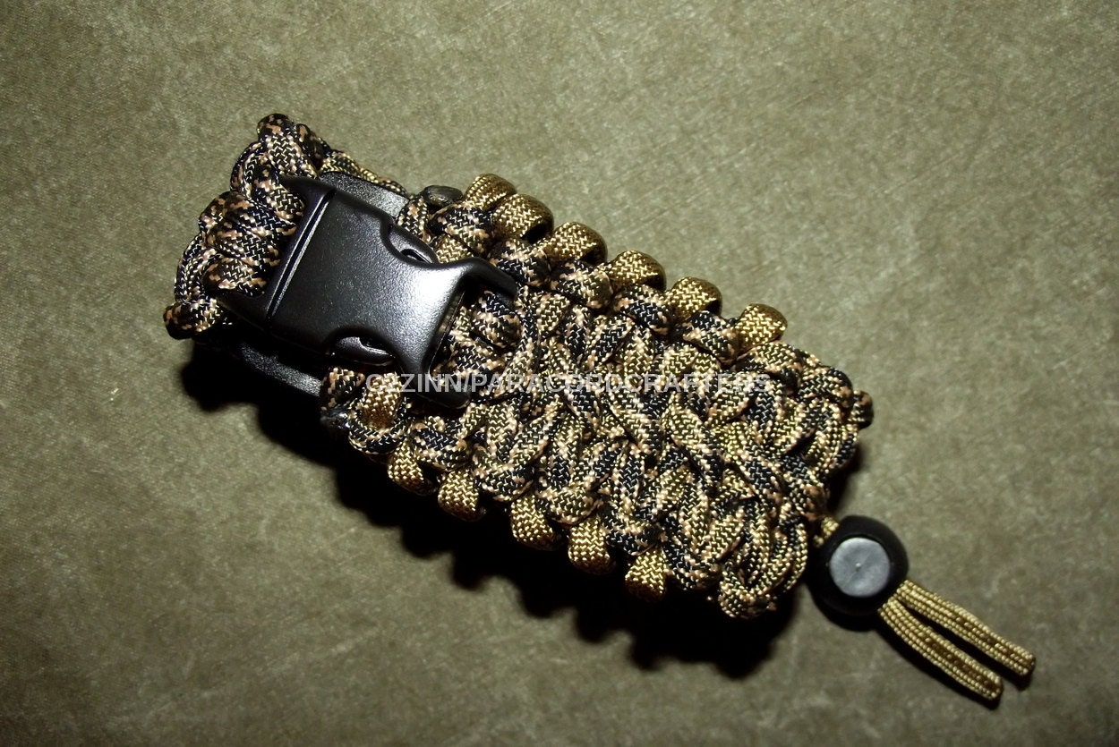 Dark camo paracord utility pouch adj us made mil spec by for How to make a paracord utility pouch
