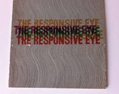 1965 The Responsive Eye MoMA exhibit catalog OP Art Space Age Mod design book