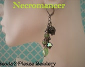 Necromancer Guild Wars 2 Inspired Earrings - Nickel Free - Dangle
