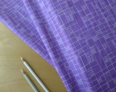 Summersville Spring Fences Lilac Lavender Purple - Lucie Summers for Moda - HALF YARD - Modern Quilting Sewing Craft Cotton Fabric