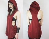 The Witching Hour tunic tank in Wine
