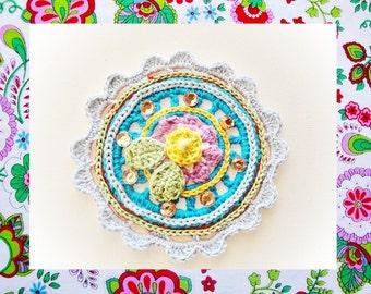 Sofisticated Mandala Crochet Pattern