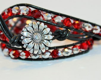 Daisy Love Wrap Bracelet