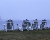 Adirondack Chair Door County Lake Michigan 8x10 or 16x20 Professional Print Fine Art Photography Nature Print