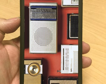 iPhone Case Vintage Transistor Radios iPhone 6/6+ iPhone 5/5s iPhone 4/4s