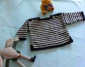 Baby boy stripey jumper