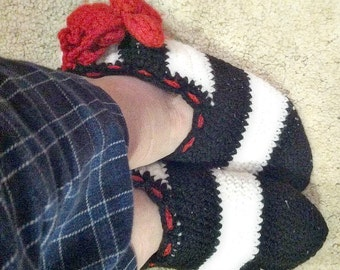 MADE TO ORDER Women's House Slippers.