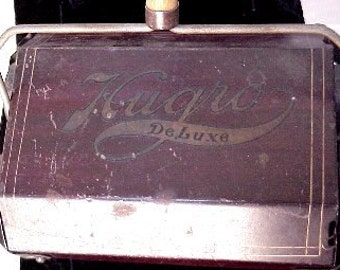 Hugro Salesman Sample Toy Sweeper Antique Deluxe Miniature Vintage Appliance