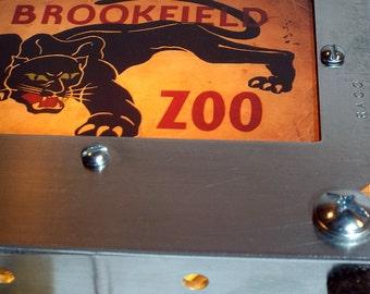 Children's Retro Brookfield Zoo Night Light Industrial Chic