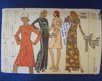 Vogue 8615, Ladies Dress