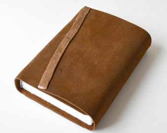 Custom Order Leather Bound Journal Diary Handmade Cowhide Notebook (379B)