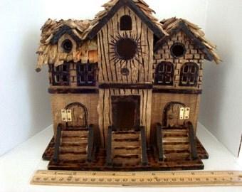 Enchanting ....Fairy Apartment House for City Fairies...OOAK
