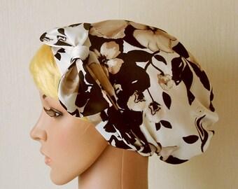 Womens Satin Head Scarf , Curly Hair Scarf, Silky Bandana, Tichel, Retro Head Wrap, Head Snood, Chemo cap, Sleeping Bonnet
