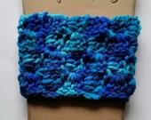 Crochet Coffee Cozy Sleeve Reusable