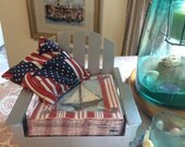 Adirondack chair napkin holder