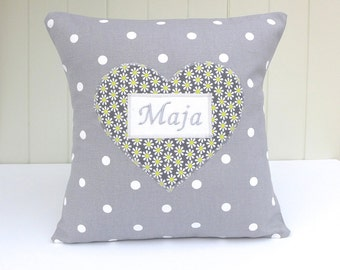 Personalised Citrus Splash Cushion
