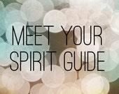 Meet Your Spirit Guide Tarot Reading- Video or MP3