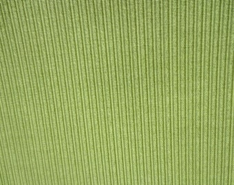 OUTDOOR Pillow Cover in a Lime Green Stripe Print