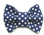 The Dotty Cat Bow Tie