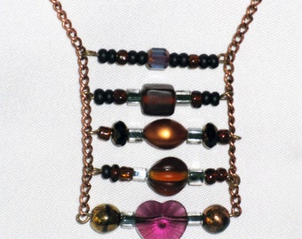 Rusty Ladder Necklace