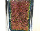 Oracle of Seasons  - Legend of Zelda - handmade multichrome flakies chameleon nail polish