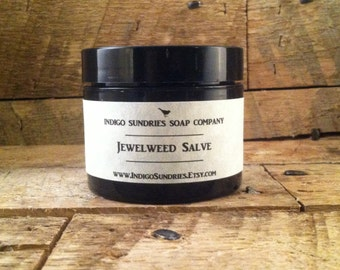 Jewelweed Salve // All Natural Hand Harvested // Poison Ivy Salve // Organic Jewelweed Salve // Jewel Weed Salve // Poison Ivy Prevention