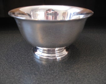 Vintage Reed & Barton Silverplate Candy/Nut Bowl