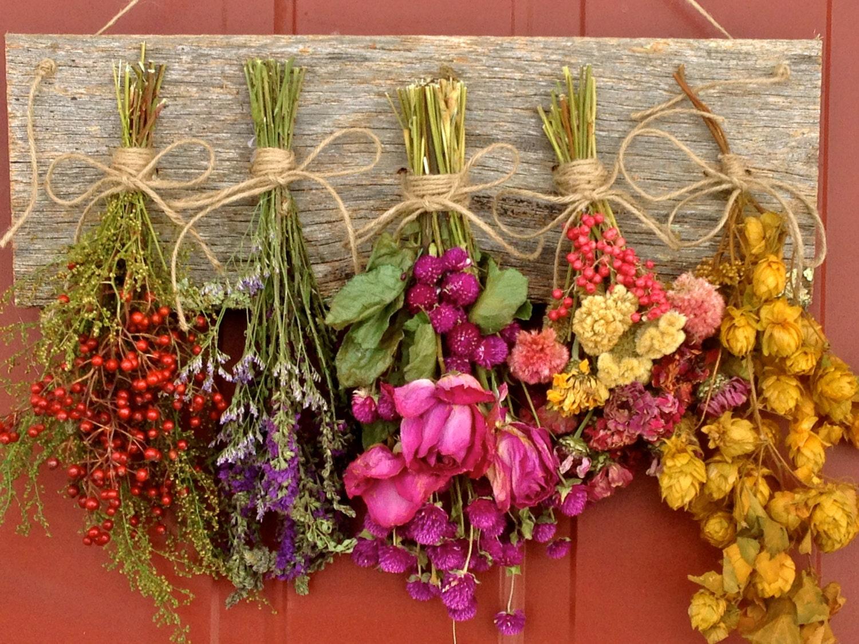 Flower Drying Rackdried Flower Arrangementwall Decordried