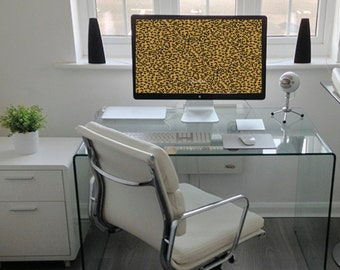 Leopard Desktop Wallpaper - Cheetah Print Desktop Wall Paper - Preppy Screen Saver