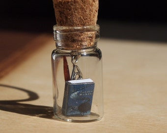 Harry Potter inspired Fairy Jar Necklace with Wand