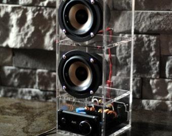 Boombox speaker system. LOUD!!