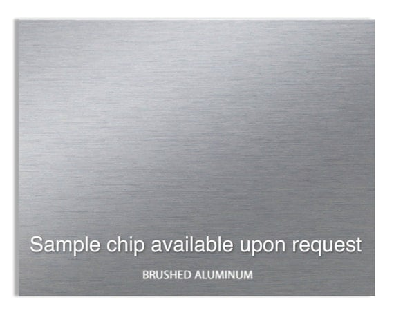 Brushed Aluminum Sheets Thin Plastic