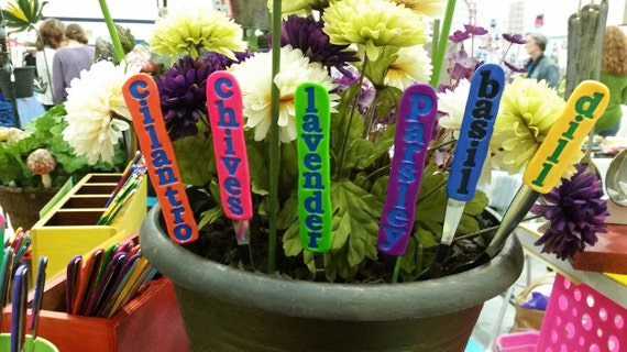 Pick 5 - reusable Vegetable and Herb Garden Markers