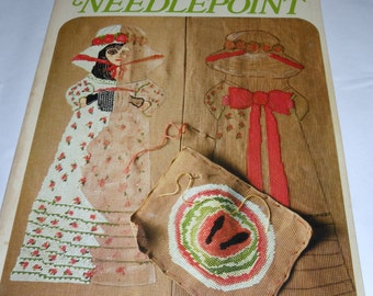 MARY MARTINS Needlepoint Book