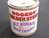 Vintage Rogers' Golden Syrup BC Sugar Refinery 5 lb Tin