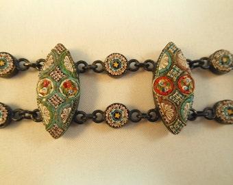 Antique Micromosaic Bracelet