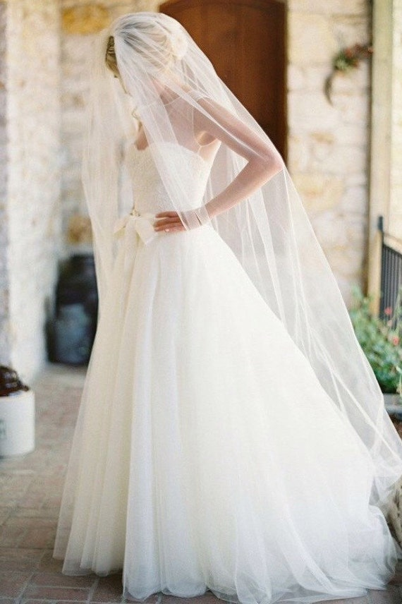 Soft Wedding Veil