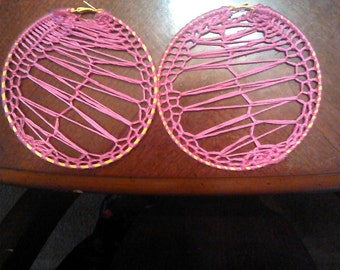 Pink/Yellow Hoops