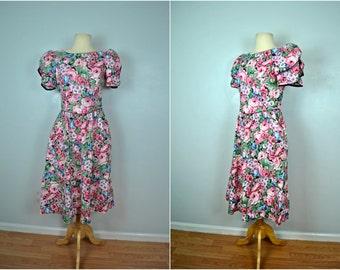 Lanz Floral Fantasy Dress, Original Lanz Summer Dress