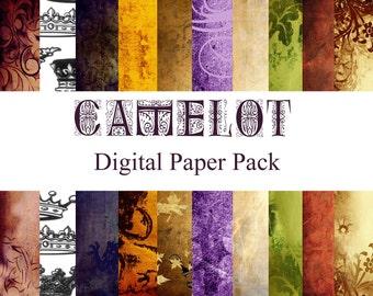 Camelot Digital Paper Pack