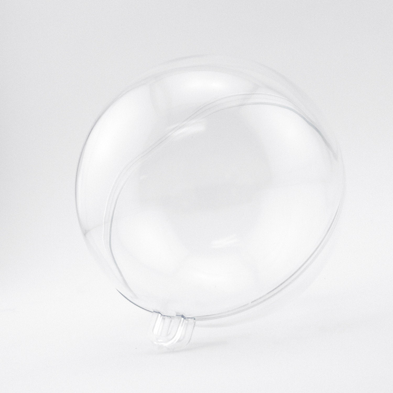 Clear acrylic fillable ornaments -  10 99